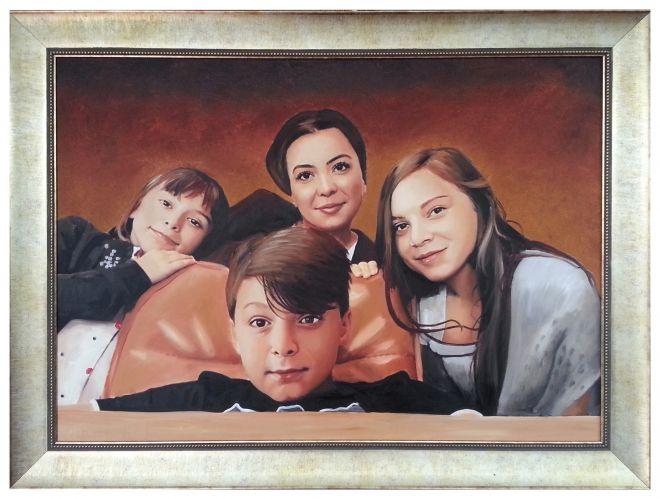 genis-aile-portre-calismasi