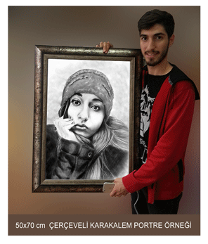 50x70-cerceveli-karakalem-portre-fiyatlari